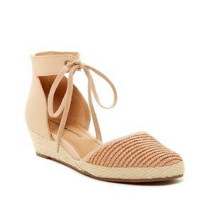 Lucky Brand woven tan talianna sandal